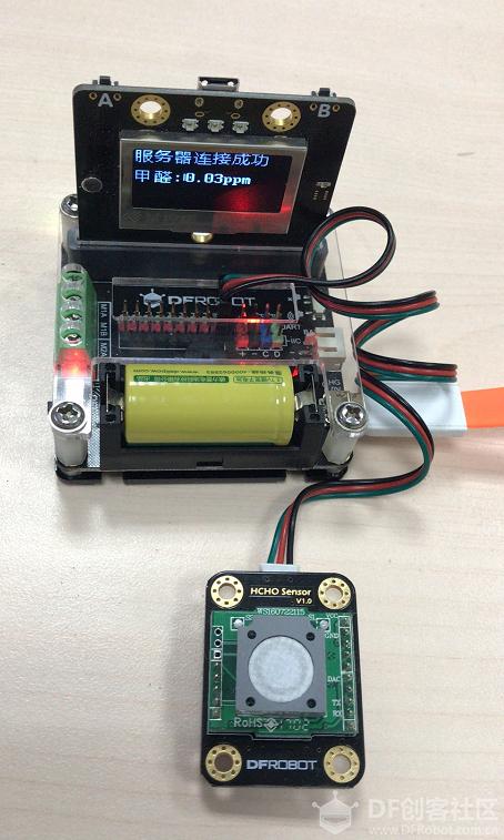 用掌控板做一个物联网甲醛检测仪吧