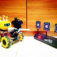 DFRobot-Makelog造物記精選項目推薦【嘉年華展示】掌控機甲狄仁杰麥輪戰車