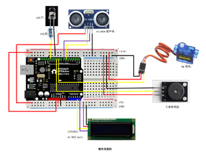 基于mind+平台及DFRduino开源硬件的共享篮球项目