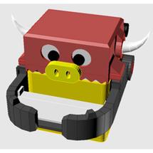 Arduino创客作品推荐:[每周挑战]造物_造一个牛年存钱机器人