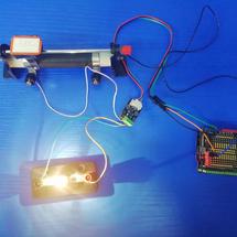Arduino创客作品推荐:绘制小灯泡的伏安特性曲线
