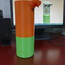 创客主题3D打印:#造作一夏#自动洗手液泡沫机