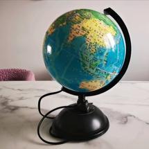地球仪的自转