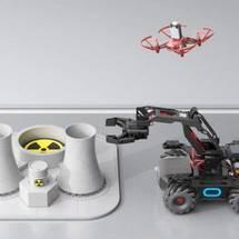 创客主题人工智能:空地联防机器人系统:第七课 项目集成总述