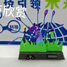 创客主题教师培训:甘肃省2h创客马拉松作品——凤舞九天