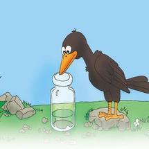 线上创客马拉松挑战赛创客大赛:乌鸦喝水新编,保护水资源