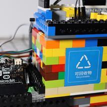 micro:bit全球青少年创意征集2021创客大赛:智能物联网垃圾桶