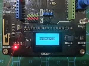 【PinPong】从绘制一条直线引发对PinPong运行机制及OLED屏使用的思考