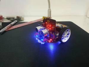 麦昆3.0测试项目:三麦老师爱学习第一篇 超声波传感器的使用