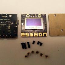 labplus创客作品推荐:N+掌控板电池盒V1.0体验
