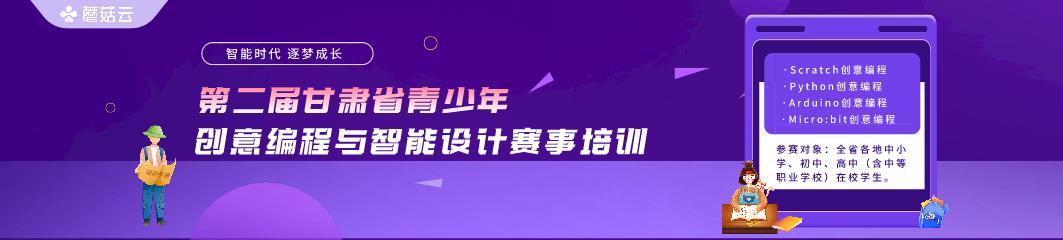 第二届甘肃省青少年创意编程与智能设计赛事培训