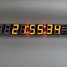 【暖冬行动】这个冬天造个5寸数码管时钟Eclock