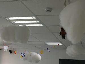 DIY闪电云
