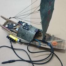 micro:bit创客作品推荐:反哺母亲河行动:物联水质监测船