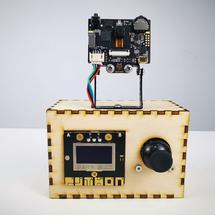二哈识图HUSKYLENS创客作品推荐:HUSKYLENS:AI无人售药机2.0