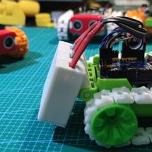 Makelog创客作品推荐:#REMAKE再造 第二轮 SMARS小车巡迹游