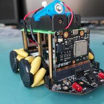 创客主题机器人:掌控板+麦昆小车一样玩麦克纳姆轮