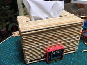 多功能纸巾盒#线上创客马拉松#