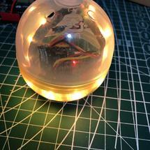 造作一夏创客大赛:#造作一夏#--无电源的扭蛋灯