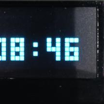 Arduino创客作品推荐:【PinPong Board】像素风格网络时钟