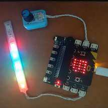 Mind+冬季挑战赛创客大赛:挑战三:RGB灯带的应用