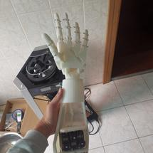创客主题机器人:#REMAKE再造# Inmoovhand致敬论坛大佬的机械手!