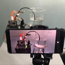 Mind+创客作品推荐:#科学实验探究#水沸腾现象的观察装置