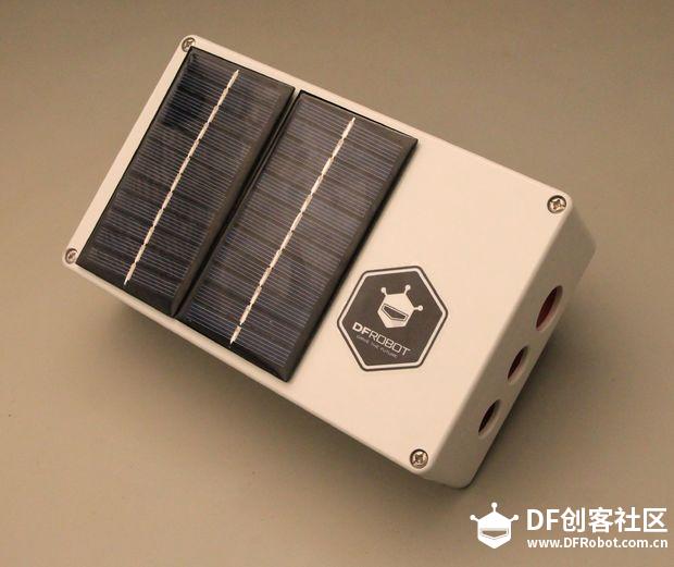 ESP32太阳能气象站