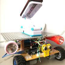 """Arduino创客作品推荐:""""爱文""""智控车系统"""