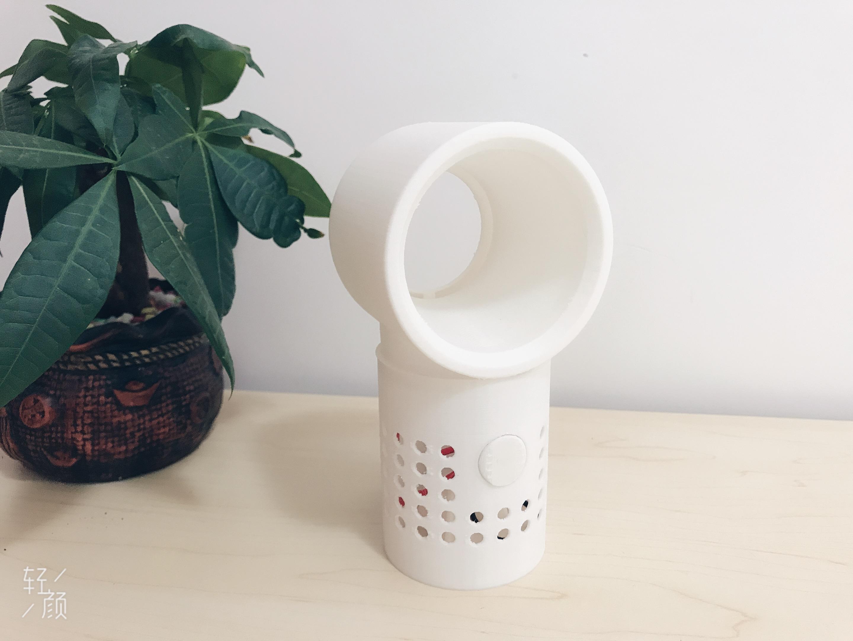 #造作一夏#+3D打印无叶小风扇