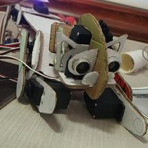 Arduino创客作品推荐:物尽其用-纸盒机器猫