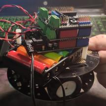 Arduino创客作品推荐:Arduino小车-今天吃什么解决机加强版
