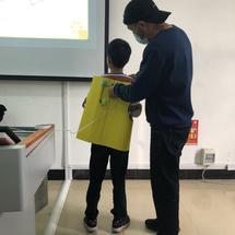 创客主题教师培训:2020年河南省—驻马店培训—优秀作品—背部按摩仪