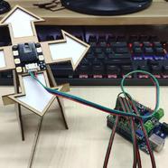 DFRobot-Makelog造物記精選項目推薦帶觸摸的手勢傳感器試用:桌面級手勢方向游戲機