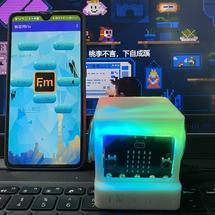 创客主题物联网:【ReMake】microbit 物联网收音机