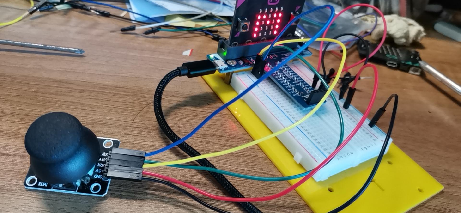 学习摇杆传感器