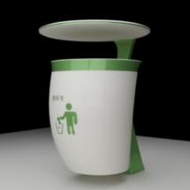 创客主题环境:智能垃圾桶