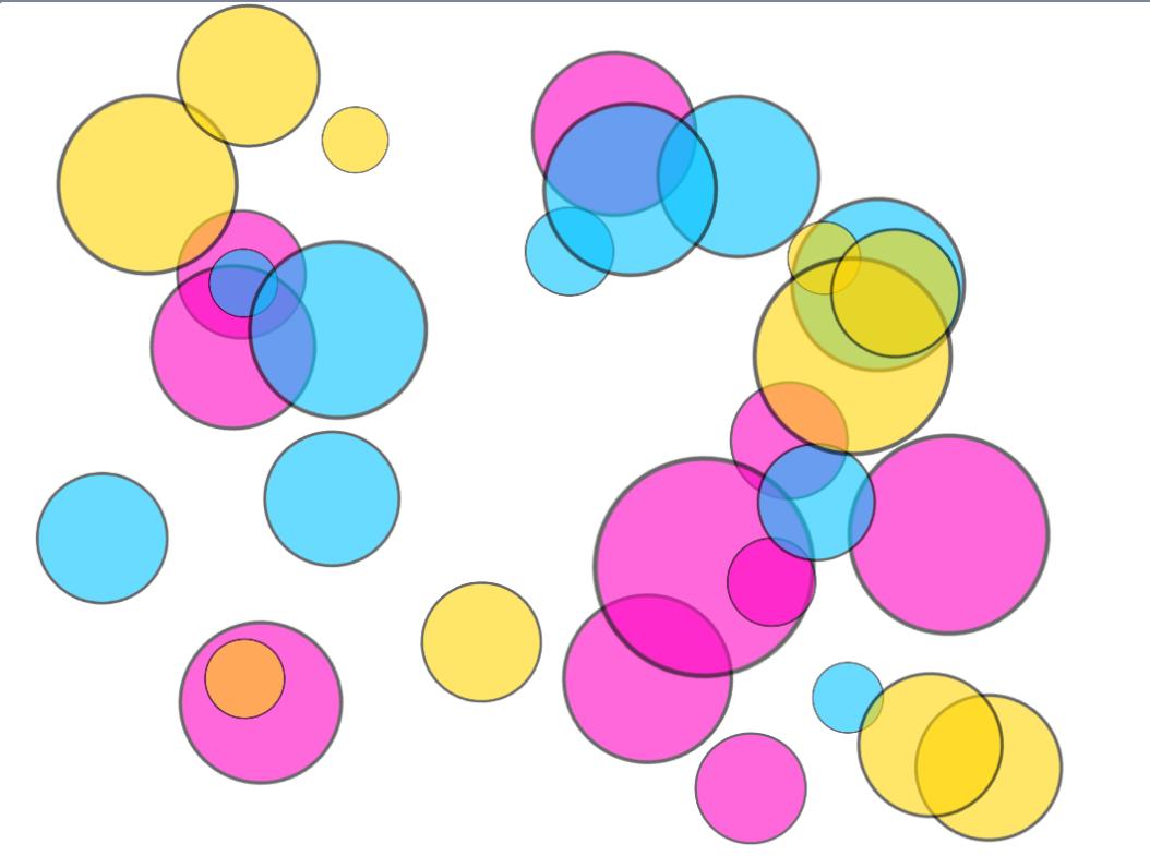 挑战二+颜料三原色原理演示及其动态艺术演示