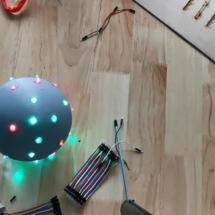 Arduino创客作品推荐:超萌语音互动宠物球
