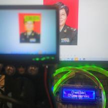 Arduino创客作品推荐:【教哈有方】战疫英雄名牌
