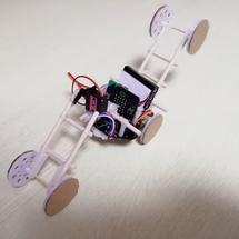 麦昆机器人创客作品推荐:【废柴发明】六轮车