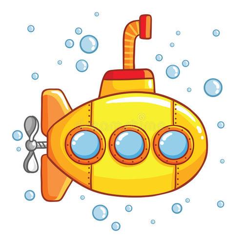 和二哈一起玩潜艇小游戏