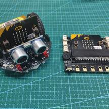 麦昆机器人创客作品推荐:micro:bit简单遥控麦昆