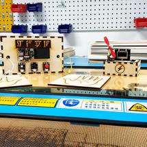 Arduino创客作品推荐:平行实镜——俯卧撑攒电能