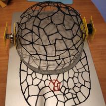 创客主题3D打印:3D打印的潮帽