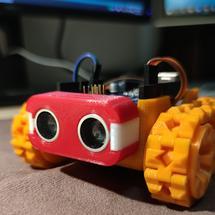 创客主题艺术:#REMAKE再造 #创客挑战赛 SMARS小车