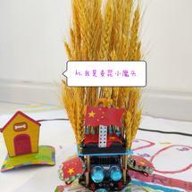 国庆节花车——五谷丰登,安居乐业