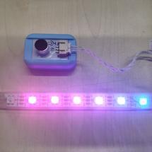 麦昆机器人创客作品推荐:造物粒子micro:bit音乐频谱