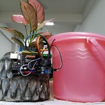 Arduino创客作品推荐:办公室盆栽自动浇水装置