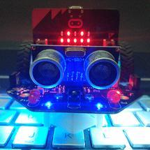micro:bit创客作品推荐:让女儿爱不释手的麦昆机器人
